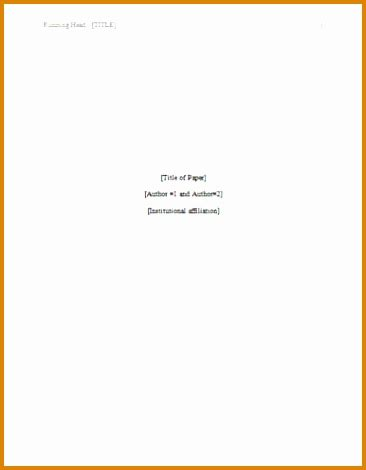 word title page templates 9 apa style paper besttemplates besttemplates