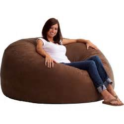 king 5 fuf comfort suede bean bag chair multiple colors
