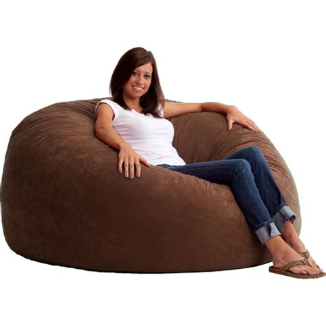 comfortable bean bag chairs king 5 fuf comfort suede bean bag chair multiple colors