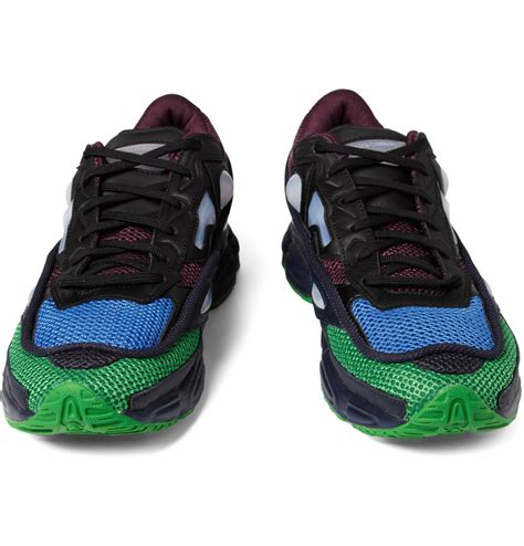 raf simons ozweego 2 sneakers in green for lyst