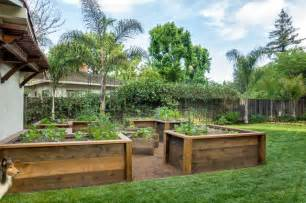 Cheap Large Outdoor Rugs Raised Bed Vegetable Garden Traditional Landscape San Francisco By Casa Smith Designs Llc