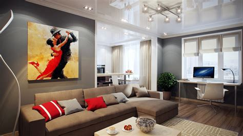 what colors go with grey walls striking home visualizations by pavel vetrov