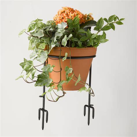 flower pot holder garden edging the green head
