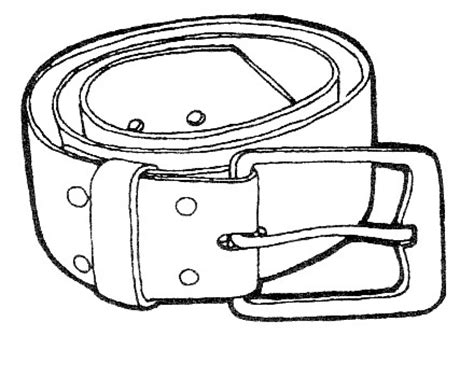 Belt Coloring Pages 為孩子們的著色頁 belt free coloring pages
