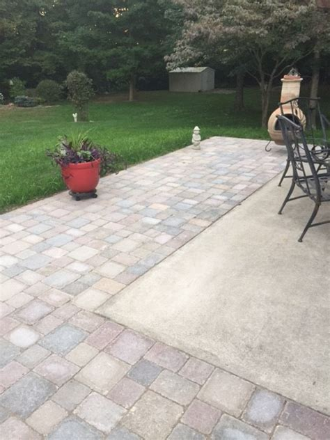 Extend Patio With Pavers Xenia Paver Patio Extension Yantons Outdoor Living Gt Feedback