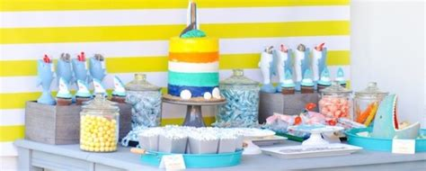 baby shark themed party kara s party ideas shark archives kara s party ideas