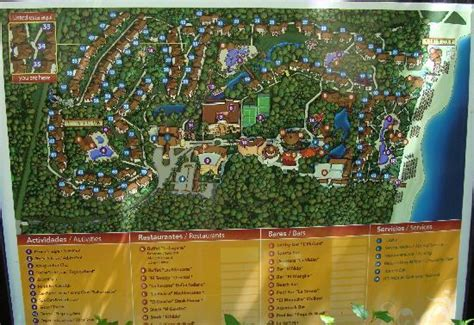 eco resort map notre chambre picture of sandos caracol eco resort