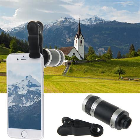 Lensa Telezoom 8 X Zoom universal clip on 8x optical zoom telescope lens fr iphone samsung htc lg ebay