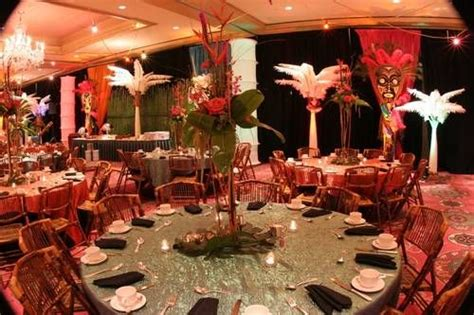 themed wedding events africa theme african theme decor 300x199 corporate theme