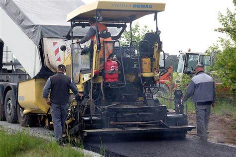 straßenbau asphalt asphaltbau