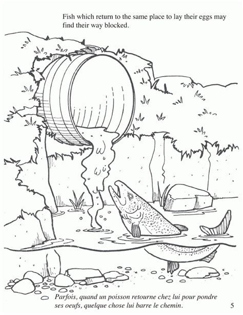 coloring pages water pollution land pollution coloring pages 419823