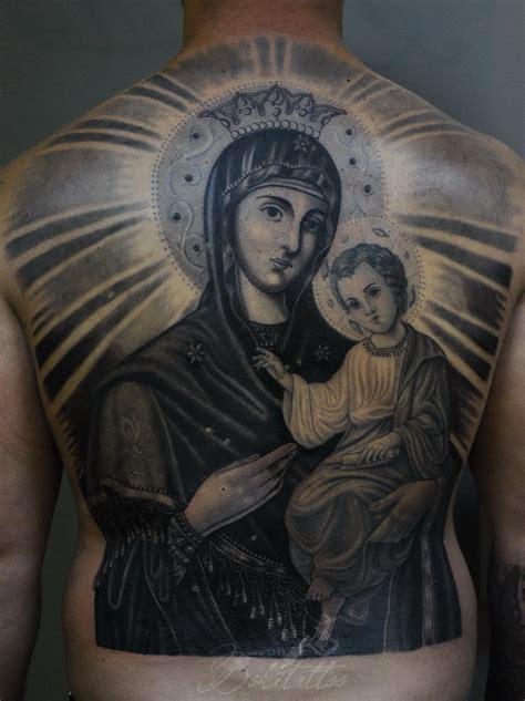 orthodox virgin mary tattoo by bokitattoo on deviantart