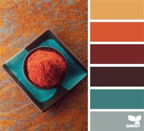 orange spice color 25 best ideas about fall color palette on pinterest