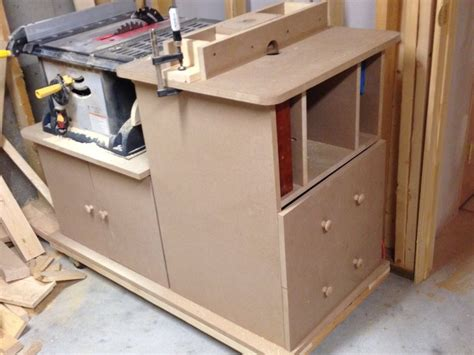 table saw router combo table saw router table combo by bred99 lumberjocks