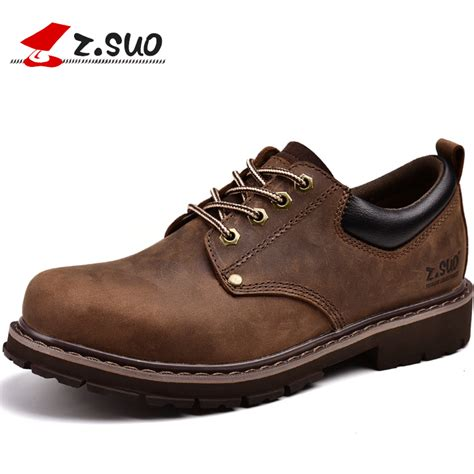 z shoes z suo s shoes leather casual shoes and