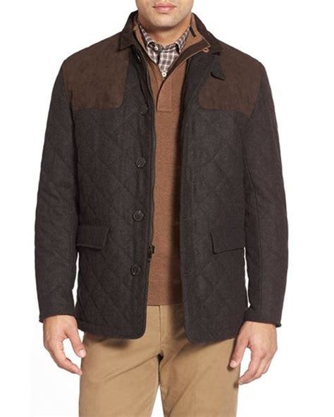 Quilted Wool Coat by Wtb Wool Quilted Jacket