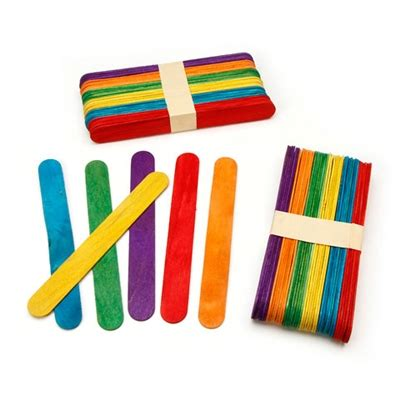 jumbo craft sticks projects jumbo wooden craft sticks assorted colors
