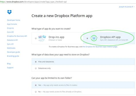 dropbox key and secret dropbox java api tutorial java tutorial blog