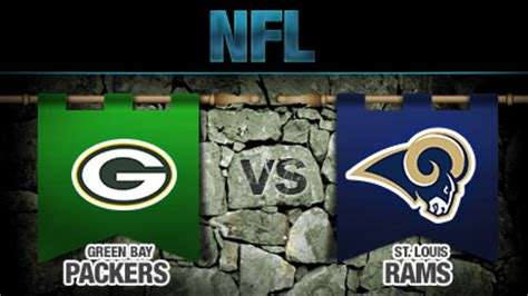 packers vs rams nfl betting lines green bay packers vs st louis rams