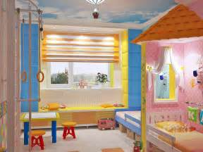 Common space in the room that can be shared by both the boy and girl