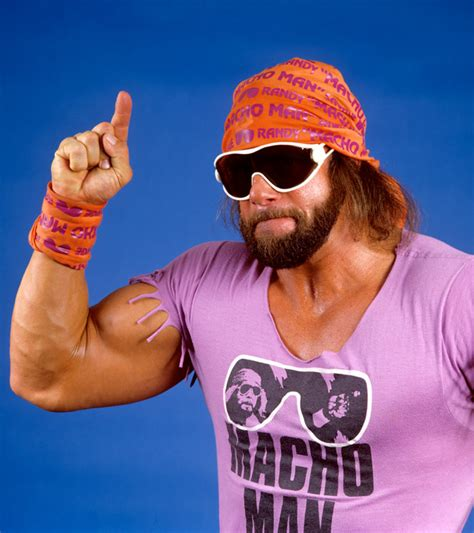 Randy Savage Meme - macho man randy savage wwe on wrestling media