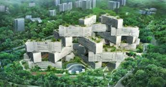 oma s jenga like interlace luxury apartments near