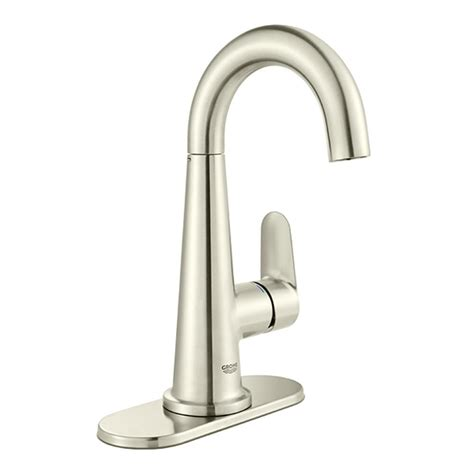 grohe concetto 4 in centerset single handle bathroom faucet in starlight chrome 34270001 the grohe veletto 4 in centerset single handle bathroom