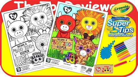booyoutube all videos page 460 mcdonald s happy meal teenie beanie boo s coloring page