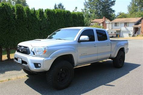 toyota tacoma long bed sell used 2012 toyota tacoma trd sport long bed crew cab