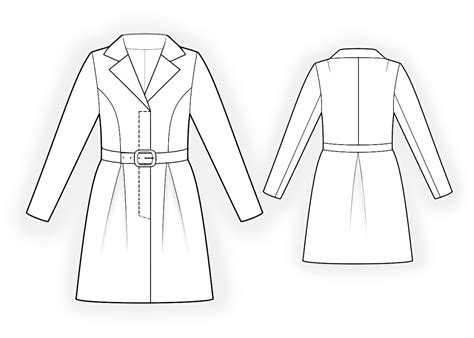 drawing jacket pattern summer coat sewing pattern 4359 made to measure sewing