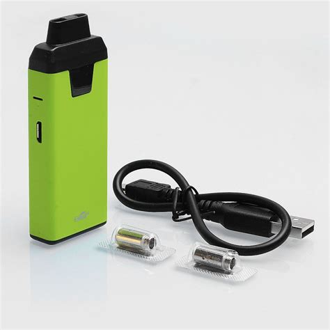 Eleaf Icare 2 650mah Starter Kit Vaporizer Authentic authentic eleaf icare 2 15w 650mah greenery 2ml 1 3 ohm starter kit