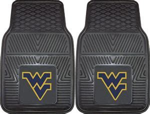 west virginia fan gear fan mats west virginia univ vinyl car mats set fan gear