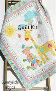 quilt kit bundle of panel easy beginner