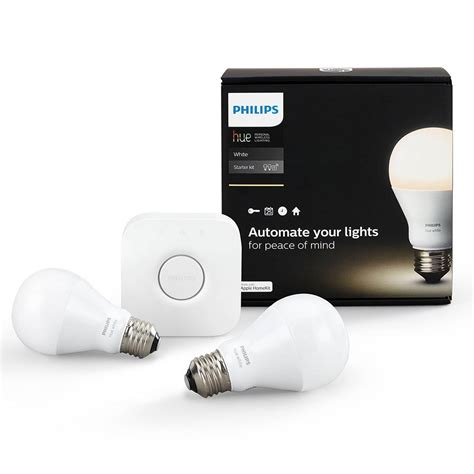 how philips hue lights work smart home starter kits smart home devices