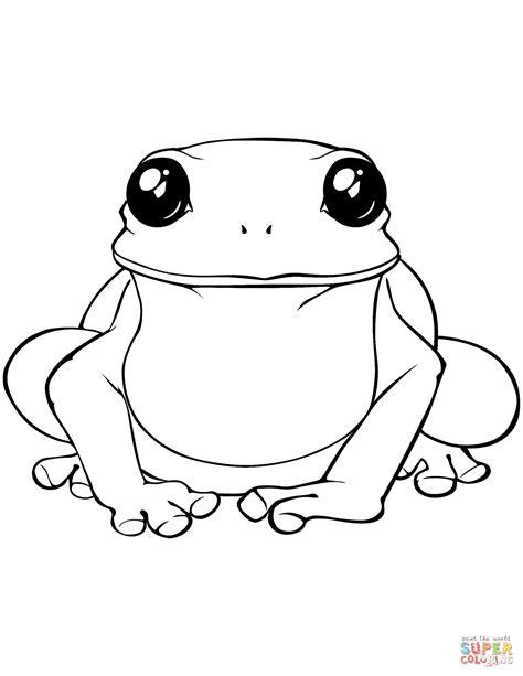 big frog coloring page kolorowanka duża żaba kolorowanki dla dzieci do druku