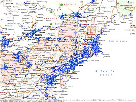 us map northern states map of ne usa and canada map northern united