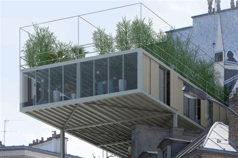 architecture how much do prefab homes or prefabricated st 233 phane malka positions modular housing units on rooftops