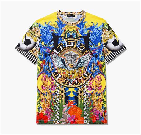 Kaos T Shirt Pop Culture 05 versace s brazil world cup takes no prisoners
