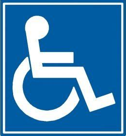 disabled parking template handicap stencil pictures to pin on pinsdaddy