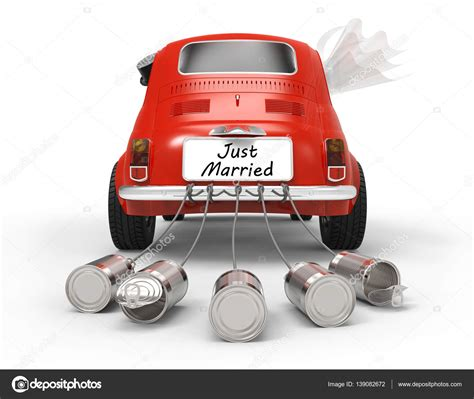 Just Married Auto Bilder by Just Married Auto Auf Wei 223 Stockfoto 169 Tom19275 139082672