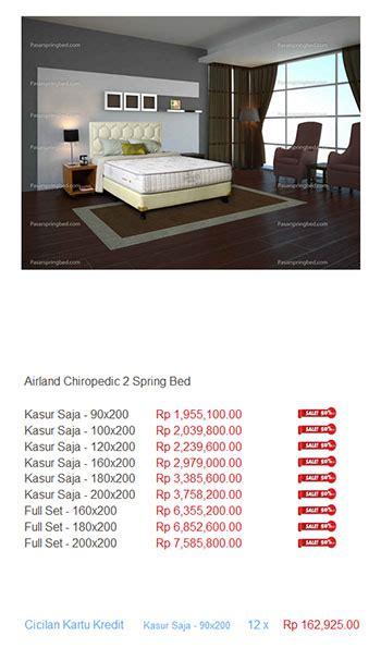 Bed Airland Allegro Air airland murah harga bed termurah di indonesia