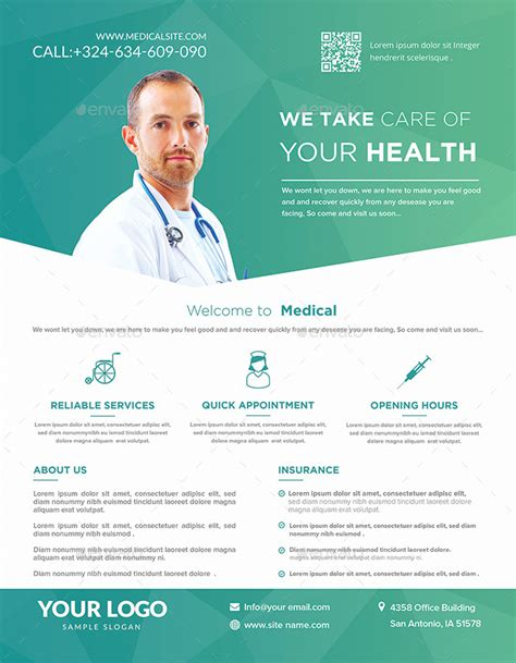 template flyer envato medical flyers templates by hazemtawfik graphicriver
