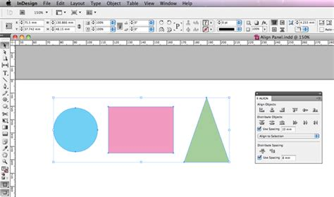 indesign quick tutorial quick tip how to use the align panel in adobe indesign