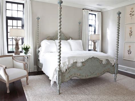 french country bedrooms sophisticated french country bedroom with four poster bed hgtv