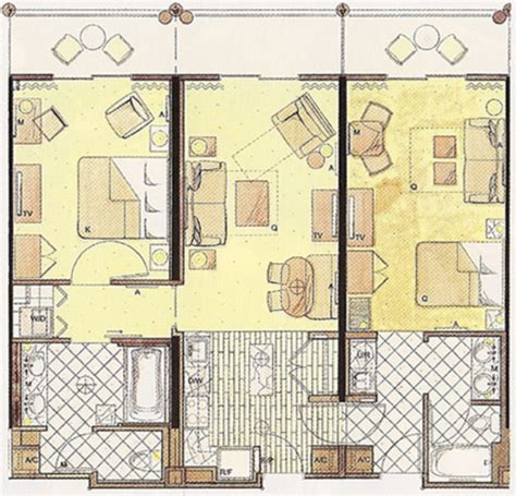 animal kingdom lodge 2 bedroom villa floor plan disney s animal kingdom villas at jambo house dvc rentals