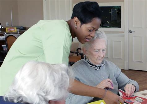 care of alzheimers patients a manual for nursing home