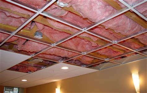 Acoustic Ceiling Insulation by Drywall Contractors