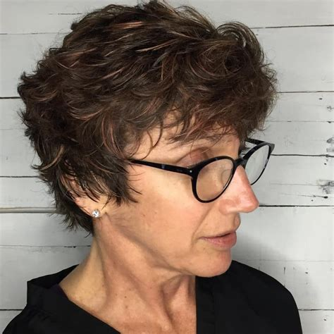 short carefree hairstyles for mature women short haircut for older women haircuts models ideas