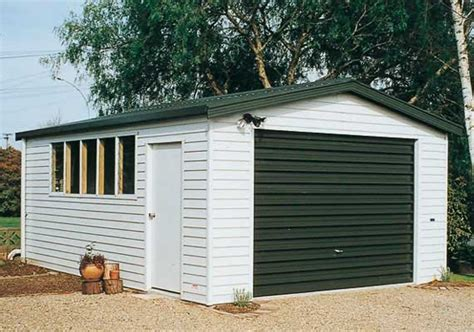 single garage single garage 6m x 3 6m garages skyline buildings