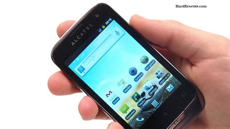 alcatel ot 985 reset android alcatel ot 985 reset factory reset and password recovery
